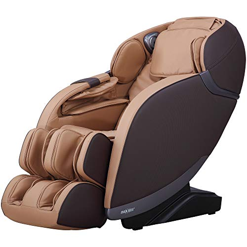 MAXXUS Massagesessel MX 8.0z - braun, Bluetooth Audio, 5 Massagearten, Bodyscan, Infrarot-Heizung, Zero-Wall-Funktion