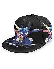 ゲッコウガ (1) フラットつばの野球帽ユニセックスアジャスタブルベースボールキャップ紫外線からお肌を守りま汗を吸収して速乾性 通気性抜群 抗菌防臭 変形しにくい 軽くて快適 直立する 男女兼用 ヒップホップハット 人気のギフト