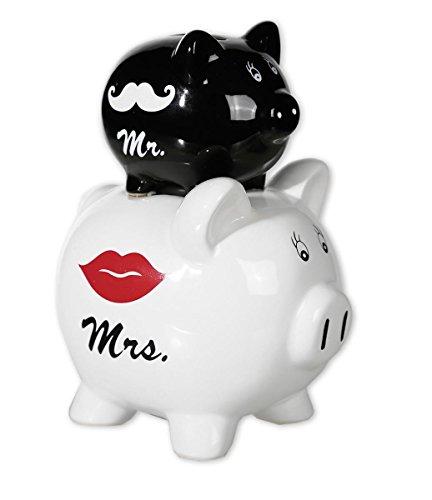 Alcancia Cochinitos de bodas - Mr. & Mrs. Double Piggy