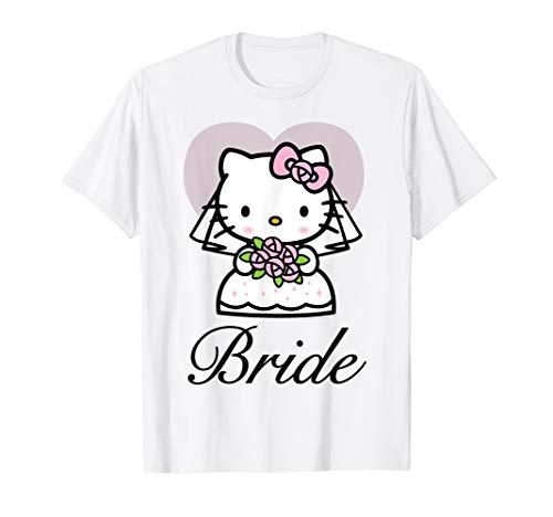 Hello Kitty Braut Hochzeit T-Shirt