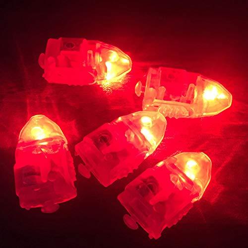 Vimoer Led-lichtsnoer, kleurrijk, doorzichtig, microscopisch, voor papieren lantaarns, balletdecoraties of bruiloften