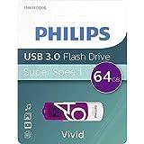 Philips Pendrive USB 3.0 64 GB - Vivid Edition (Purple)