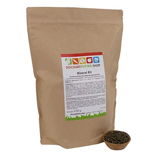 Mineral Kit - Mineralfutter für Pferde (2 kg - Pellet) - ohne Getreide und Zuckerzusatz