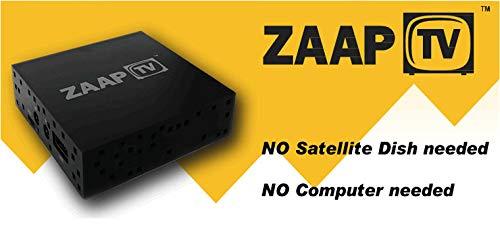 ZaapTV HD509N II IPTV Receiver Box arabisch, türkische Sender und viel mehr ohne Antenne! by ZAAPTV