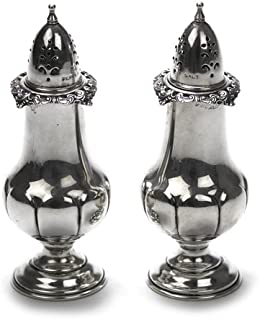 Grande Baroque by Wallace, Sterling Salt & Pepper Shakers