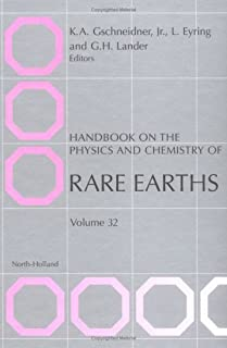 Handbook on the Physics and Chemistry of Rare Earths (Volume 32)
