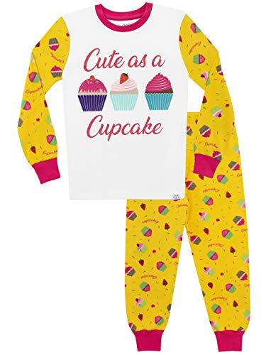 Harry Bear Pigiama per Ragazze Carino Come Un Cupcake Vestibilitta Stretta Multicolore 5-6 Anni
