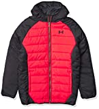 Under Armour boys Pronto Puffer Jacket, Versa Red F201, X-Large US
