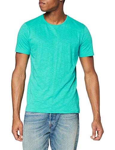Stedman Apparel Shawn (Crew Neck)/ST9400 Premium T-Shirt, Bahama Verde, L Uomo