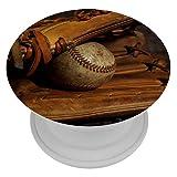 Xingruyun Gant de Baseball Support De Support De Téléphone Escamotable Pliable Et Universel 4x4cm