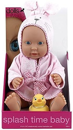 Precio por piso Dolls Dolls Dolls World Splash Time Baby Girl by Peterkin  tienda de venta