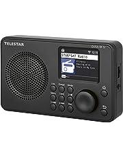 Telestar Dira M 5i - Radio por Internet (Pantalla a Color TFT, UPnP y Reproductor Multimedia USB, Despertador, Bluetooth 5.1, Control Remoto vía aplicación Soundmat)