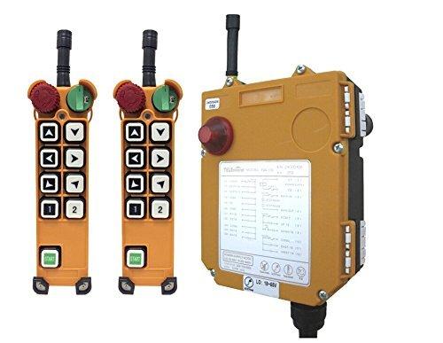Grúa de elevación Industrial Mando a distancia F24–8S 2transmisor + 1Receptor Universal Industrial inalámbrico mandos a distancia