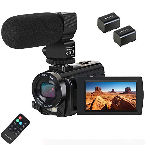 Video Camera Camcorder Digital Camera Recorder with Microphone (201LM-2)