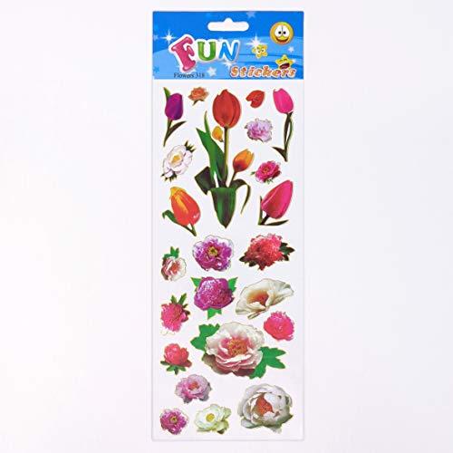 Fun Stickers Flowers 318
