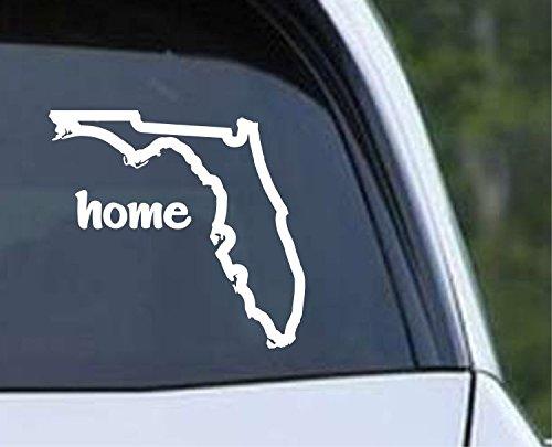 Florida State Outline Home Seasonal Wrap Introduction FL - unisex USA America Decal Vinyl Cut Die