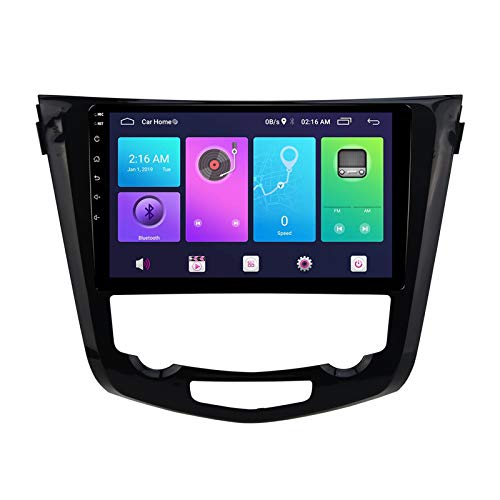 Nav Android 10.0 Car Stereo Double Din para Nissan X-Trail QASHQAI 2014-2020 Navegación GPS Unidad principal de 10 pulgadas Reproductor multimedia MP5 Receptor de video y radio con 4G WIFI DSP Carplay
