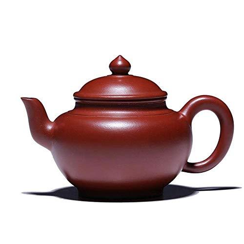 Sisyph-c Lila Sand Tee-Kessel, Kirschblüten Klassische Teekanne Qualitäts Tüllensieb for lose Blatt-Tee geeignet for Familienfeiern und Teeliebhaber, 300ML