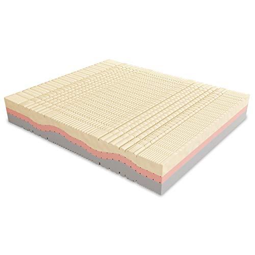 Baldiflex Materasso Matrimoniale Memory Foam 3 Strati Sweet Armony - 190 x 160 x 25 cm - Cuscini Inclusi RIV. Silver Safe