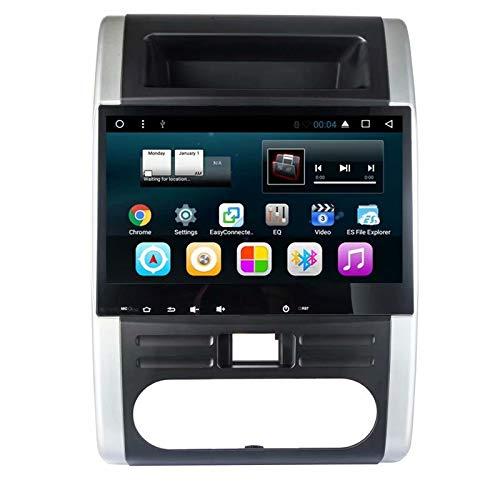 TOPNAVI pour Nissan X-Trail 2008 2009 2010 2011 2012 2013 Android 7.1 Unité Centrale Radio stéréo avec ROM de 32 Go 2 Go de RAM WiFi 3G RDS Lien de Liaison FM AM BT