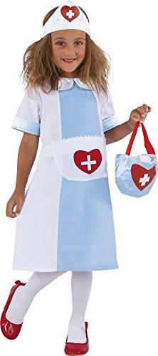 Rubies - Nursy, disfraz de enfermera para niños (S8315-M)
