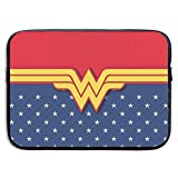 The Avengers Superhero Wonder Woman Laptop Sleeve Bag 15 Inch Tablet Briefcase Ultra Portable Protective, Laptop Canvas Cover MacBook Air, MacBook Pro, Notebook Computer Sleeve Case
