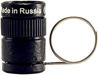 EDTara Mini 2.5x17.5 Monocular High-Telescope with Key Chain for Outdoor Sports Hiking Camping Black