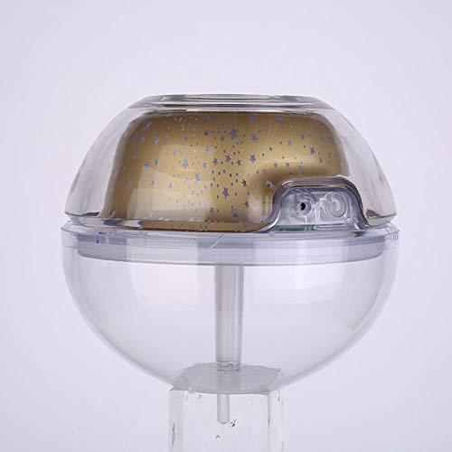 Luchtbevochtiger Kristal Nachtlampje Projectie Luchtbevochtiger Luchtbevochtiger met grote capaciteit Usb Shadow Luchtbevochtiger