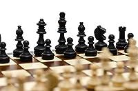 Bellissimo set di scacchi MAGNETICO in legno, gioco di scacchi con figure magnetizzate, gioco classico artigianale ... (medio 28 cm) #5