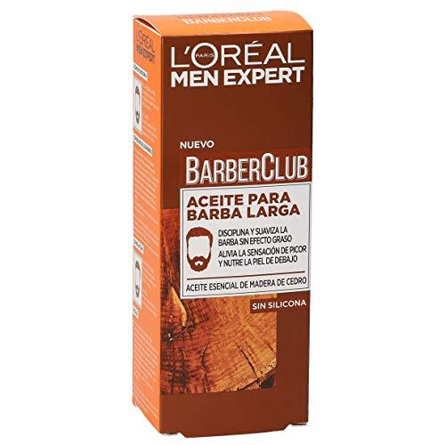 L'Oréal Paris Men Expert - Barber Club Aceite hidratante para barba larga...