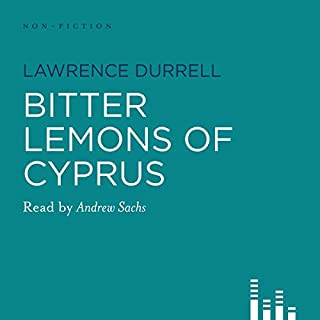 Bitter Lemons of Cyprus audiobook cover art