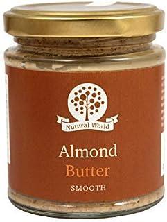 Nutural World - Mantequilla suave de almendra (170g)
