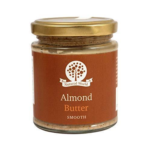 Nutural World - Mantequilla suave de almendra (170g