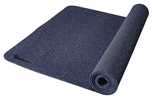 Nike Unisex– Erwachsene Yogamatte, Blau, 61 cm × 172 cm