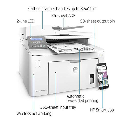 HP Laserjet Pro Impresora láser monocromática inalámbrica todo en uno (Reacondicionado)