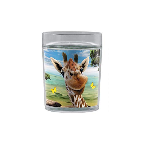 Albero libero 34cl (340,2gram) Resort tumbler Giraffe selfie