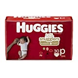 Huggies Little Snugglers, Baby Diapers, Size Preemie, 30 Ct