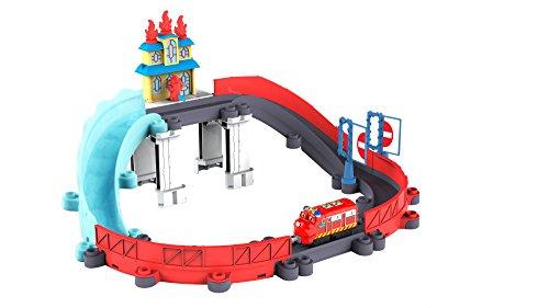 Tomy Chuggington - LC54254 - Circuit de Trains Miniatures et Rails - Circuit au Secours Wilson