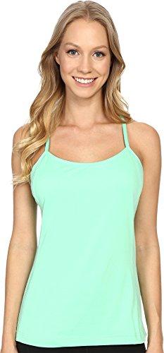 adidas Outdoor Climb The City - Camiseta de Tirantes para Mujer, Color Verde, Talla Grande
