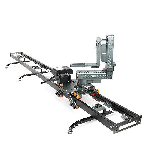 asxmov-g3s Heavy Timelapse cámara pista deslizante Dolly ferrocarril Sistema motorizado Slider para DSLR Cámara Cámara de vídeo Slider para fotografía de película eléctrica
