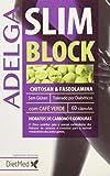 DietMed Adelga Slim Block Suplemento - 60 Cápsulas, color Blanco, 200 ml