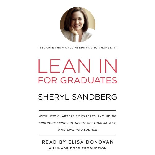 Lean In for Graduates audiobook cover art