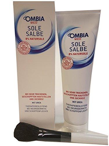 1 x 150 g. Ombia Med Sole Salbe + grossem Kosmetikpinsel