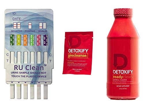 RU Clean 6 Test Kit with Ready Clean Detox Drink to Quickly Detoxify Your Body