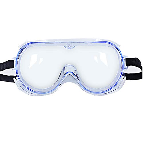 HR-COME Proporciona una visi/ón Completa de protecci/ón contra Salpicaduras Arena y Polvo para los Ojos Gafas de protecci/ón para los Ojos Gafas de Seguridad para ni/ños escombros