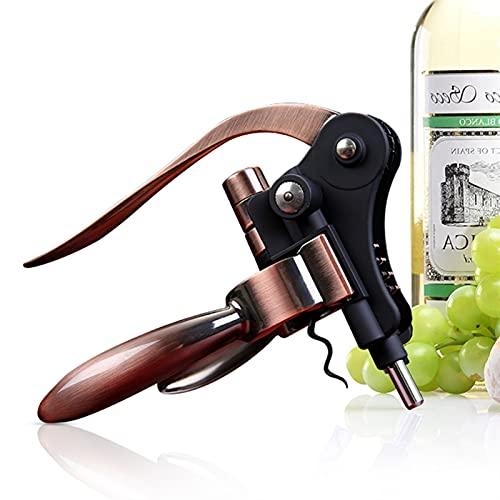 Abre de vino Aleación de zinc Creativo Botella de vino abrelatas con forma de conejo Corkscorios de vino Abridores de botellas de vino para uso en el hogar Herramientas de cocina