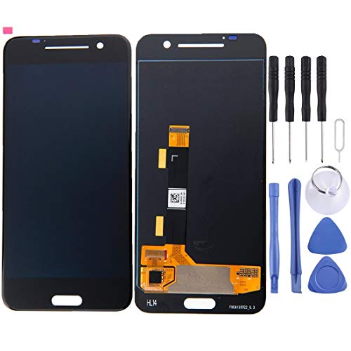 HUAAT -LCD Screen and Digitizer Full Assembly for HTC One A9(Black) DIY (Color : Black)