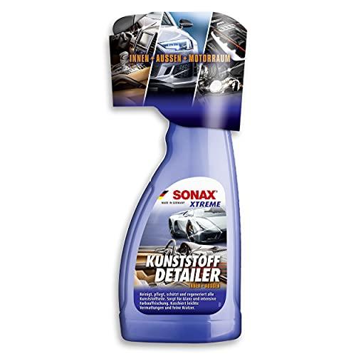 SONAX XTREME KunststoffDetailer Innen + Außen (500 ml) Reinigung, Pflege und Schutz für das gesamte Fahrzeug | Art-Nr. 02552410