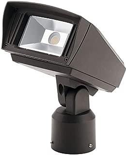 Kichler 16222AZT30SL Outdoor Flood Light, 1-Light LED 23 Watts, Textured Architectural Bronze