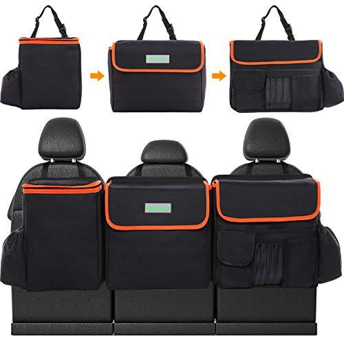 Simniam Kofferraum Organizer Auto, Aufbewahrungstasche Organizer Auto mit großen Sitztasche Autositztasche Kofferraumtasche Auto für SUV/MVP